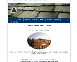 Celstone Concrete Roofing